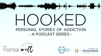 Hooked Podcast Banner for Mental Well Site 2020